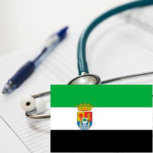 Administración sanidad Extremadura